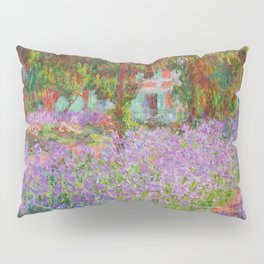"Claude Monet ""The Artist's Garden at Giverny"" Pillow Sham"