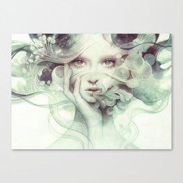 Spore Canvas Print