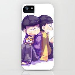Ichi & Jyushi iPhone Case