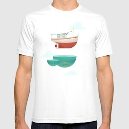 Floating Boat T-shirt