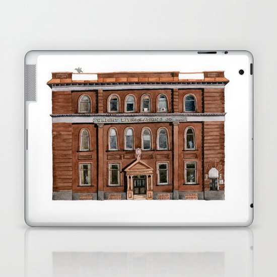 Wright Building Laptop & iPad Skin