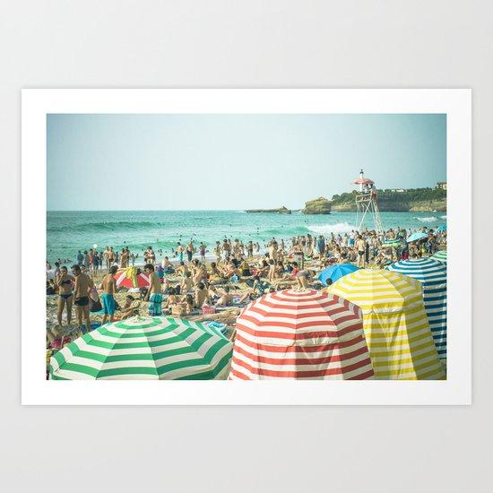 Colorful holiday Art Print