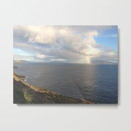 Rainbow Fragment Metal Print