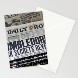 Daily Prophet Dumbledore Stationery Cards