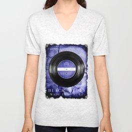 Black and Blues Unisex V-Neck