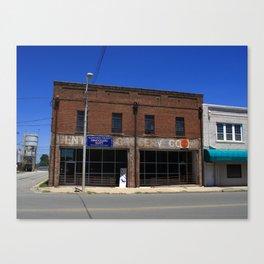 Burlington, NC - Old Downtown 2009 Canvas Print