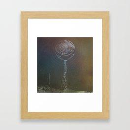 Garden Island Towers  Framed Art Print