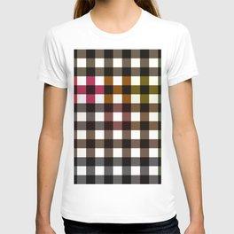 Colorful Checker 02 T-shirt