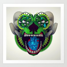 Artificial Mythology Art Print