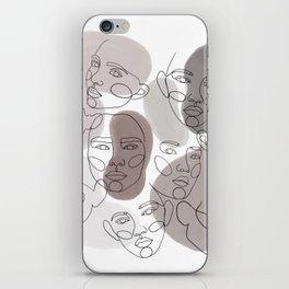 earth portraits iPhone Skin