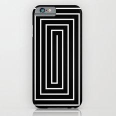 Black & White Spiral Slim Case iPhone 6