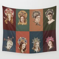 buffy Wall Tapestries featuring The Saints of Sunnydale  by mycolour
