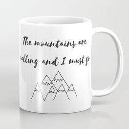 Mountain Sound Coffee Mug
