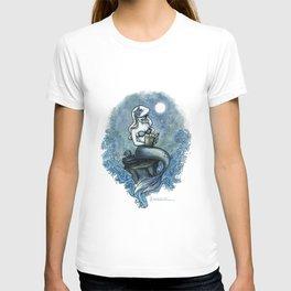 Bookish Mermaid W  T-shirt