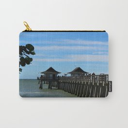 Historic Naples Pier - Naples Florida Carry-All Pouch