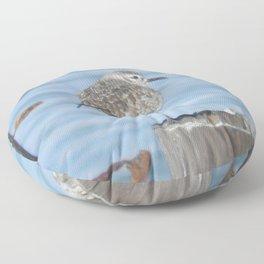 resting piper Floor Pillow