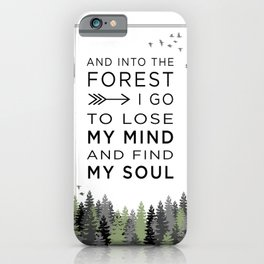 Into the Forest I iPhone Case