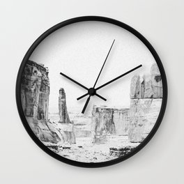 ARCHES NATIONAL PARK / Utah Wall Clock
