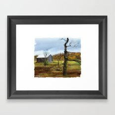 Bluevale Framed Art Print