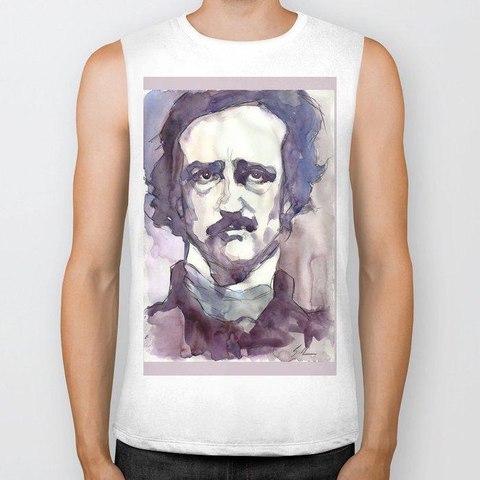 Edgar Allan Poe Biker Tank