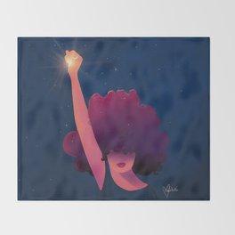 Black Girls are Magic Throw Blanket