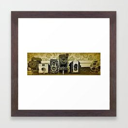 the whole gang  Framed Art Print