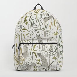 Grey Cheetahs Backpack
