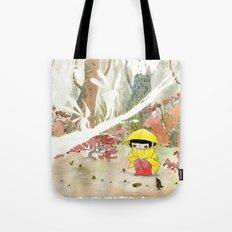 in the rain 1 Tote Bag