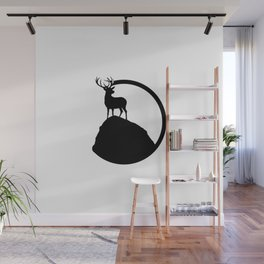 deer pose Wall Mural