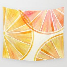 Sunny Citrus Wall Tapestry