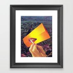 Pleasure Correlation Upgrade Framed Art Print