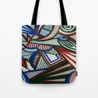 3d Tote Bags featuring 3D by Jess D'Angelo