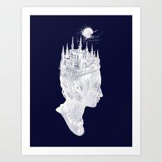 Princes Crown Art Print