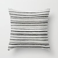 lace Throw Pillows featuring Lace by Anita Ivancenko