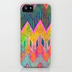 Tribal Chevron - Yellow Slim Case iPhone (5, 5s)