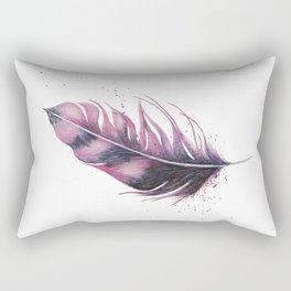 Feathery Rectangular Pillow