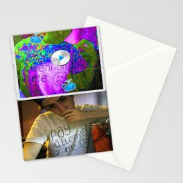 PAY ATTENTION 2 ME TEE Stationery Cards