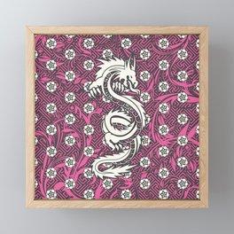 Hidden Dragon II Framed Mini Art Print
