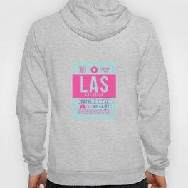 Baggage Tag B - LAS Las Vegas USA Hoody