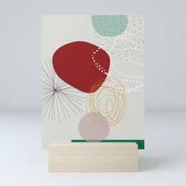 modern abstract VI Mini Art Print