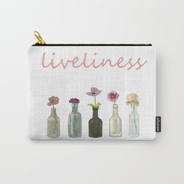 livelinerss . lettering . art Carry-All Pouch