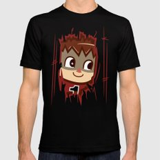 Heeeeere's..... the Villager! MEDIUM Black Mens Fitted Tee