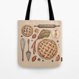 Pie Baking Collection Tote Bag