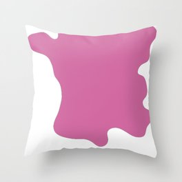 Trance in pink Throw Pillow