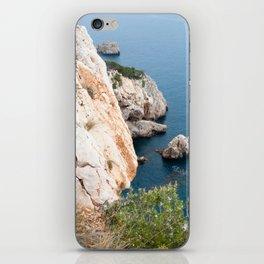 Summer landscapes around Costa Brava, impressive cliffs and coastlines. iPhone Skin