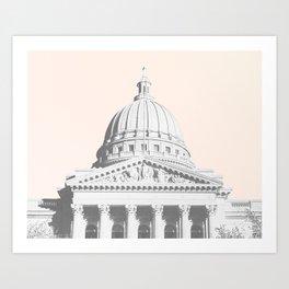 madison, wi Art Print