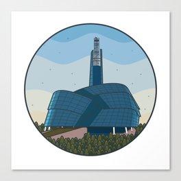Explore Winnipeg Canvas Print