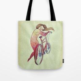 Bicycle hugger Tote Bag