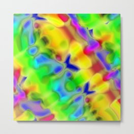 Abstract ABC C Metal Print