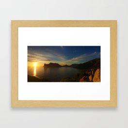 Hout Bay Framed Art Print